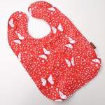 Toddler Bib Butterfly Sky ..