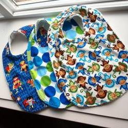Set of bibs 3 toddler Baby Bibs